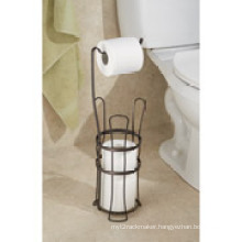 Interdesign Classic Toilet Paper Roll Holder with Stand