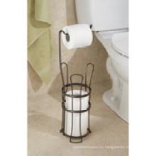 Interdesign классический туалетной бумаги Держатель рулона с подставкой