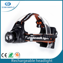 Waterproof Rechargeable Battery Multi Function Headlights