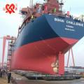 Fabriqué en Chine bâtiment marin SALVAGE PONTOON ou levage airbags marins en caoutchouc