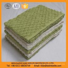 billig Masse 10s 80% cotton + 20% Polyester Uni gefärbt Waffel weben Einweg Küchentuch