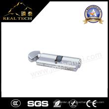 Cilindro de bloqueio de porta de latão aberto de lado único fabricante