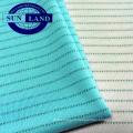 Tissu antistatique 99 polyester 1 carbone type jersey pour combinaison de travail