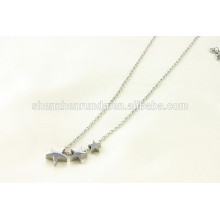 Alibaba wholesale 2015 hot design stainless steel small star necklace