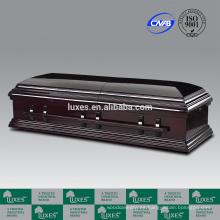 Ataúdes de la cremación de LUXES de venta estilo americano fúnebre ataúd