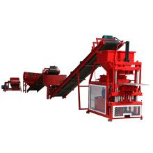 FL2-10 máquina de bloque de ladrillo hidráulico automático de maquinas de barro maquinas de barro totalmente automático