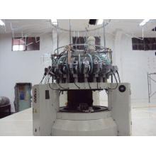 Старая плюшевая ткань Компьютеризированная круговая машина для вязания текстиля
