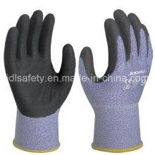 18 калибровочных порезов работы перчатку с Сэнди нитрила покрытием (K8088-18)