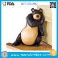 Bouchon de porte en céramique d'ours ou de canard d'Animal World