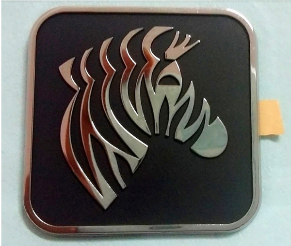 Electroforming Nickel Thick Logos