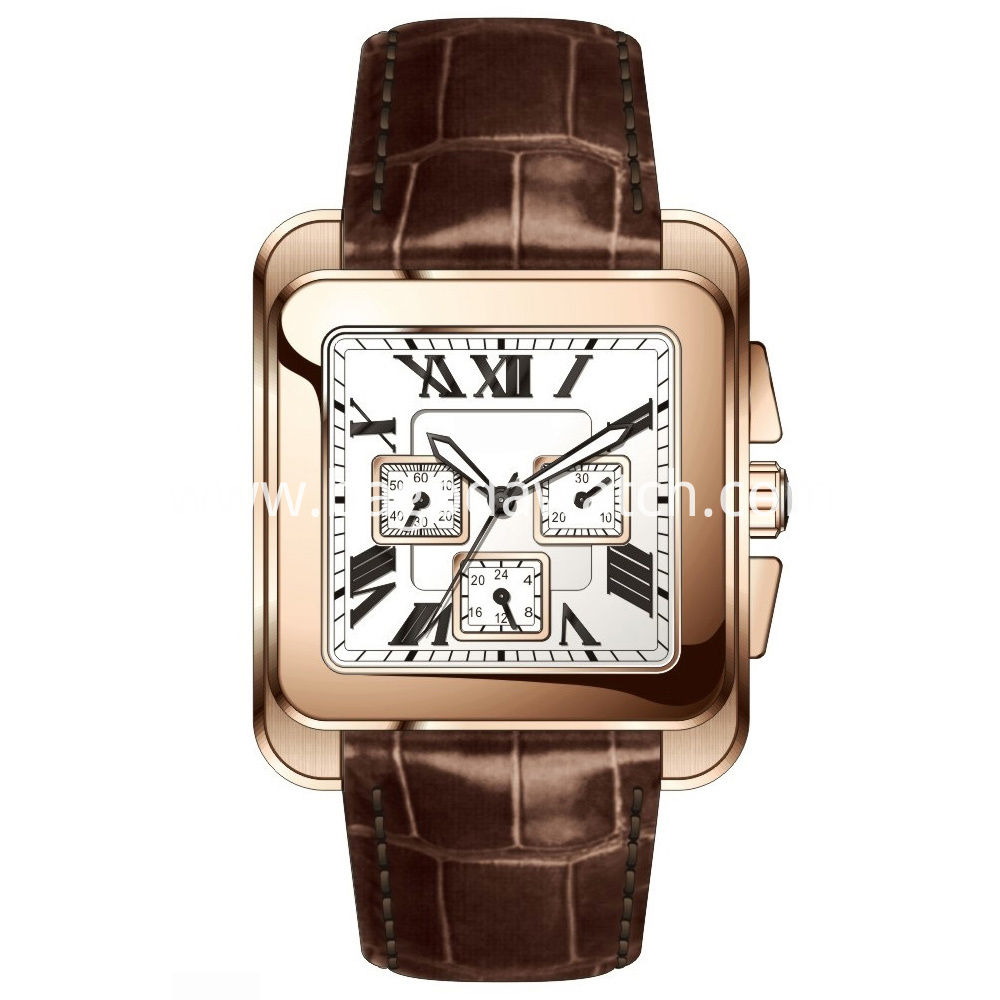 Men Square Watch