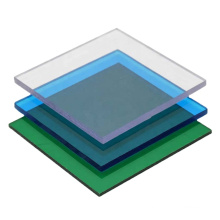 Recyclable clear cheap plastic panels poly carbontae solid sheet for canopy awning skylight roofing greenhouse