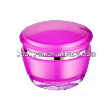 Plastic Acrylic Cosmetic Cream Jar 15g 30g 50g