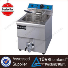 Professional Restaurant Ovens Counter Top 2-Tank 2-Basket Máquina de fritar automática