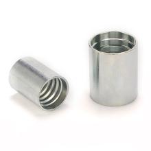 Aluminum Ferrule 00110A Hydraulic Hose Ferrule SAE 100 R1 Hose Crimper Ferrule