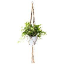 diy plant hanger macrame