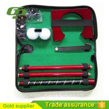 Новинка недорогой офисный Гольф практика набор/подарочный набор для гольфа офисный/крытый гольф комплект