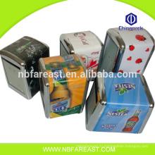 Нинбо завод сделал дешевые металлические мини-коробки ткани