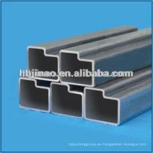 Fabricación de forma anormal tubos de acero sin costura y tubo