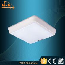 Best-Seller 12W / 16W Home LED iluminação lâmpada de teto quadrado