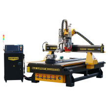 Wood Working MDF Cutting Machine 3D Engraving CNC Router Atc with Manufacture Cost