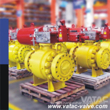 High Temperature Cr-Mo Alloy Wc6, Wc9, C5, C12, C12A Trunnion or Floating Ball Valve