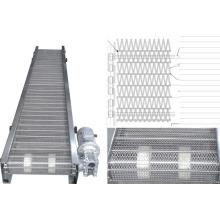 Stainless steel mesh belt conveyor
