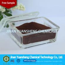 Supresión de polvo y aditivos químicos Sodium Ligno Sulfonate