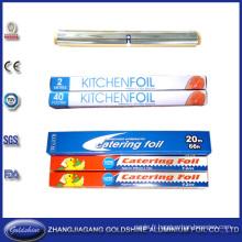 Prix concurrentiel SGS qualité large 30cm feuille d'aluminium