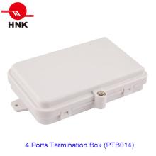 4 ~ 8 Cores 4 portas caixa de terminação de cabo de fibra óptica (PTB014)