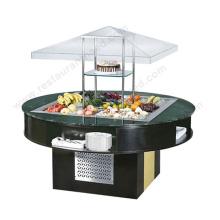 Shinelong Cafeteria Equipamento Equipamento de bar de lanche redonda de alta qualidade