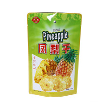 Customized Dried Pineapple Packaging Bag Composite Stand up Bag Cake Preserve Aluminum Food PE Aluminum Foil Food Package Snack