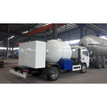 Asme Standard Flüssiggas LKW Mini LPG Flüssiggas Tankwagen