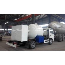 Caminhão de tanque liquefeito do gás do petróleo de LPG