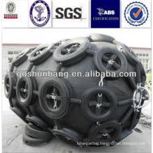 Dia 2.5mx4m Dry cargo ship protective pneumatic fender