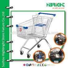 pull along galvanized custom trolley cart