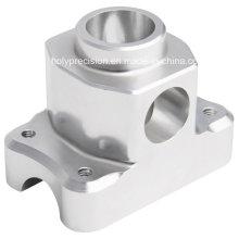 Серебро Анодное окисление алюминия 6061 токарный станок с ЧПУ поворотной части