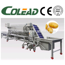 Batata lavagem peeling máquina / cenoura peeling máquina / batata peeling e máquina de corte