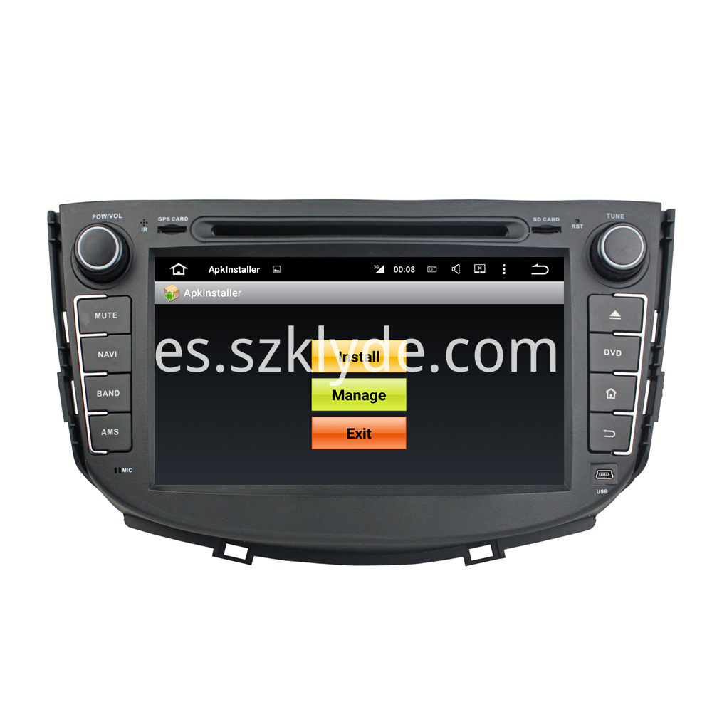 Android 5.1 LIFAN X60 Car Audio 005
