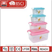 rangement en plastique container4.3L/8.3L/14.2L/25.2L