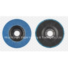 7′′ Zirconia Alumina Oxide Flap Abrasive Discs Fibre Glass Cover 38*15mm 120PCS