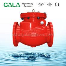 Ul fm válvula de retenção para protecção contra incêndios