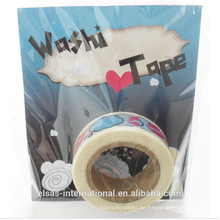 Maßgeschneidertes Washi Tape, individuell bedrucktes Washi Tape, wasserfestes Washi Tape