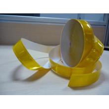 amarillo de alta visibilidad reflectante cinta reflectante de PVC 200cd