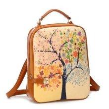 Moda barata PU couro mochila para crianças (YSBP02-0002)