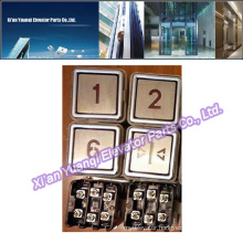 Thyssen Buttons Elevator Lift Spare Parts Thyssenkrupp Stainless Steel Push Call Button Brand new
