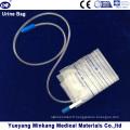 Sac de drainage médical pour sac de collecte d'urine 2000ml pour soupape Pull-Push pour adultes