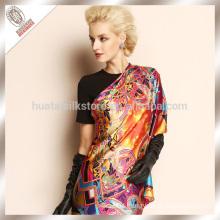 Fashionable lady winter silk palestine scarf