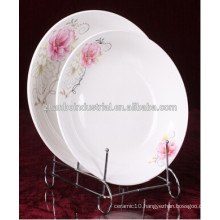 New Bone china plate, ceramic dinner plate bone china, white new bone china plate