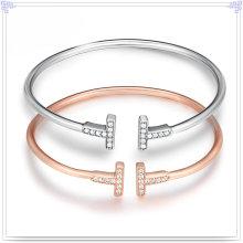 Fashion Jewelry Silver Bangle 925 Sterling Silver Jewelry (SL0078)